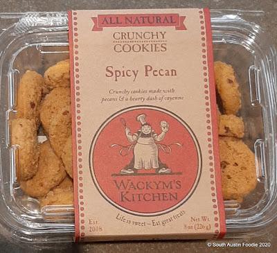 Wackym's Spicy Pecan Cookies