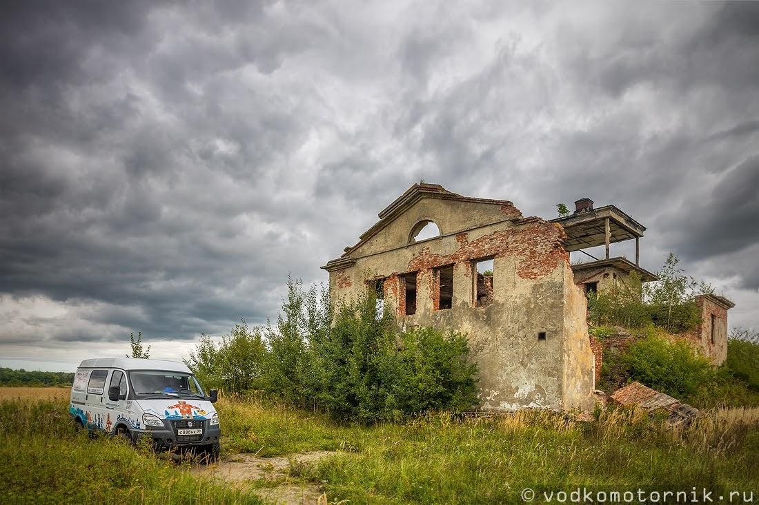 ГАЗ Соболь 4х4 самый западный у КДП