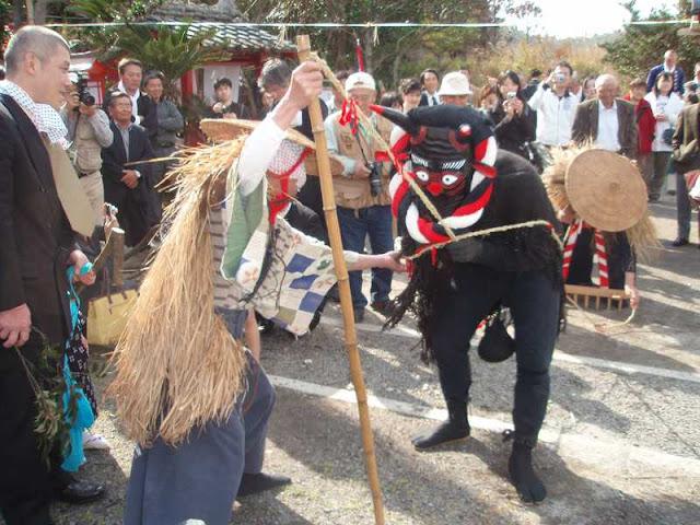 Tarou Tarou Matsuri (Spring Festival), Ichikikushikino City, Kagoshima