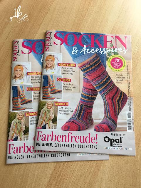 Socken und Accessoires aus Opal Wolle im OZ Verlag