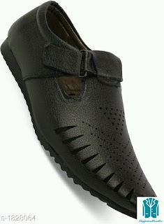 Stylish Synthetic Leather Men's Sandals