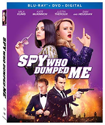The Spy Who Dumped Me 2018 Eng 720p BRRip 450Mb ESub HEVC x265
