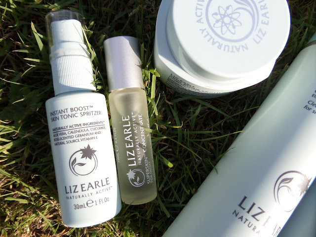 my Liz Earle collection, summer skincare routine, hot cloth cleanser, liz earle