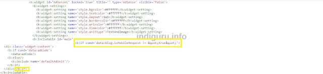 Blogger conditional tag for Desktop Theme