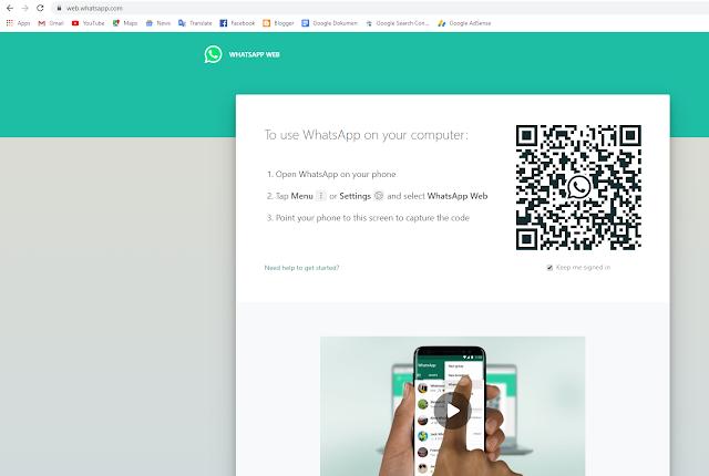 Cara Menggunakan WhatsApp Web Dengan Mudah