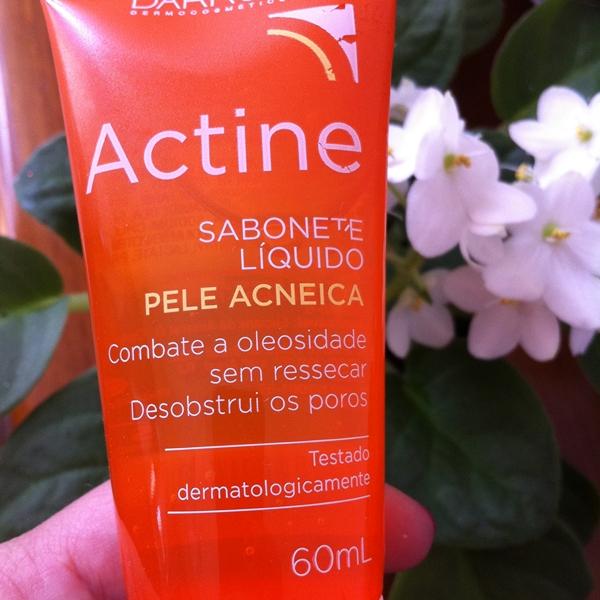 Actine Sabonete Liquido Facial Para Pele Acneica