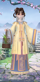 Suzhen's medical robes and veil