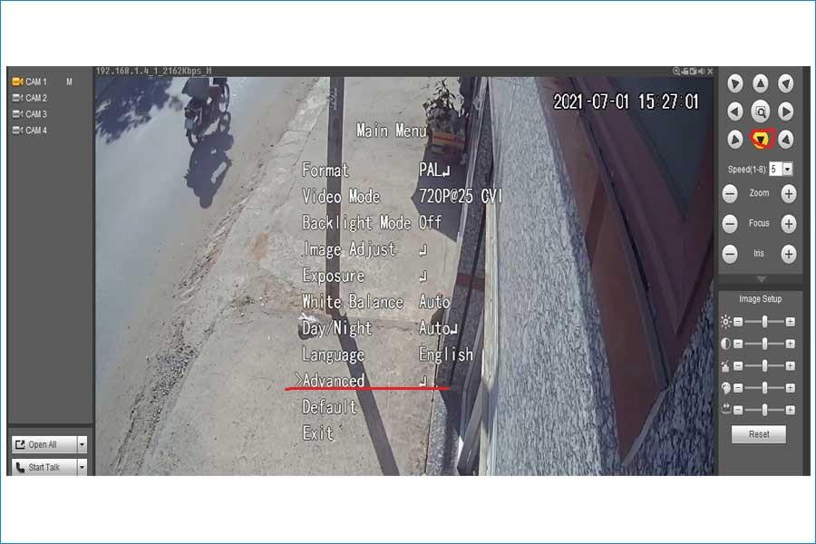 Chuyển hệ camera 4 in 1 tại nhà