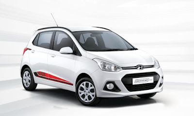 Hyundai Grand i10 20th Anniversary Edition  right side front view