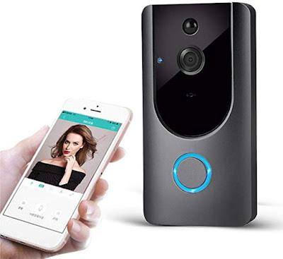 kigins M2 Wireless Visual Smart Campanello Allarme Wifi