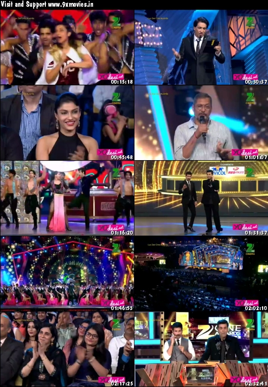 Zee Cine Awards 2016 Main Event 480p HDTV