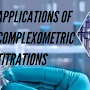 Applications Of Complexometric Titrations Of Titrimetric Analysis