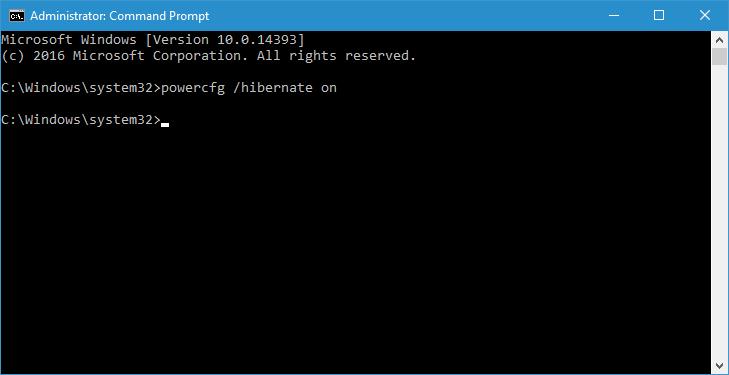 Cara Menampilkan Opsi Hibernate pada Power Menu Windows 10