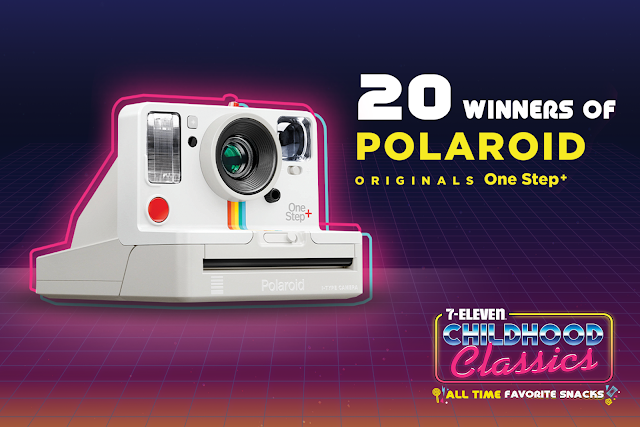 7-Eleven Childhood Classics 20 Winners of Polaroid Camera