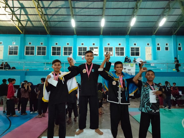 Mahasiswa STIA Nusa Juara 1 Pencak Silat se-Sumatera