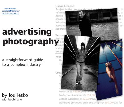 Portada de libro: Fotografia de anuncios