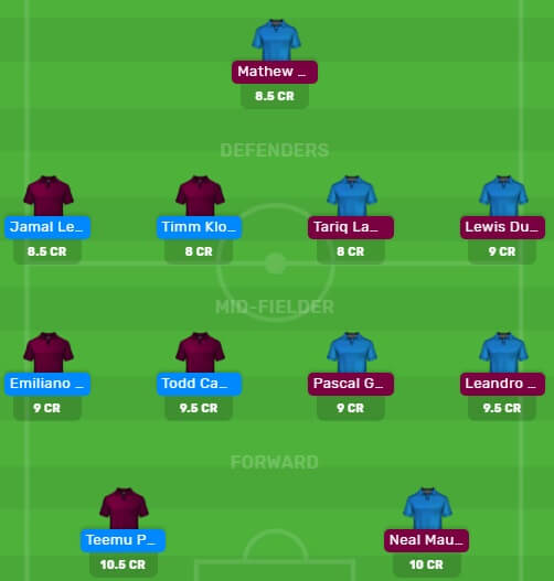 NOR vs BHA Dream11 Fantasy Football Predictions for Today's Match