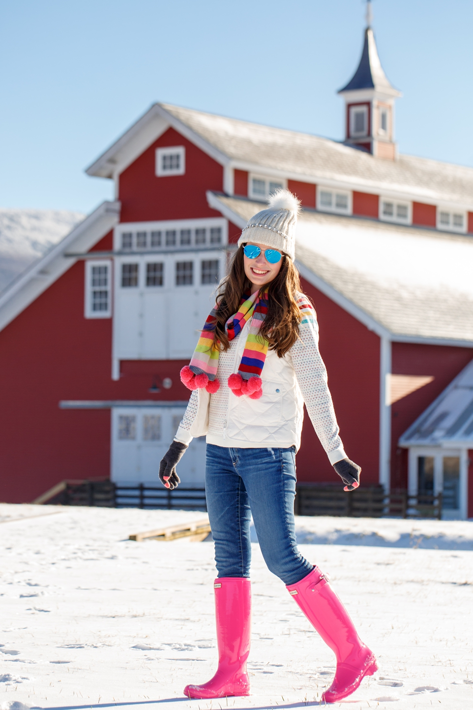 Cute Preppy Winter Style