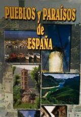"""Carátula del DVD: """"Pueblos y paraísos de España"""""""