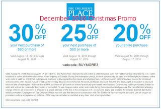 free Childrens Place coupons for december 2016