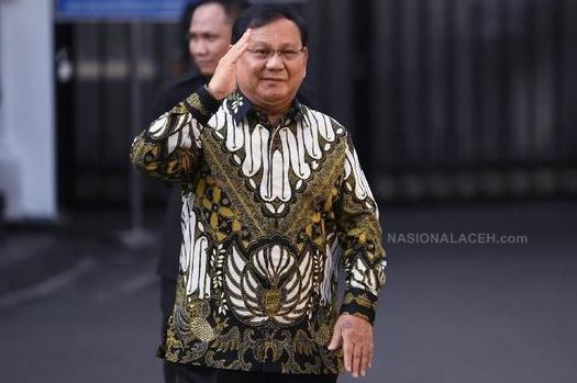 Gagal Jadi Presiden RI, Prabowo Dipilih Jadi Menteri