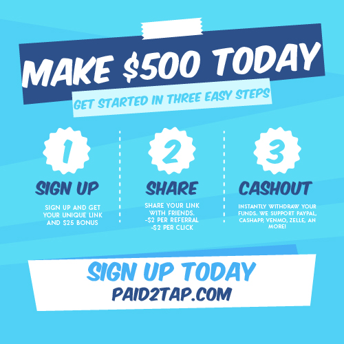 Get Paid To Tap