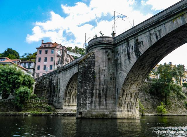 Ponte de São Gonçalo, sobre o Rio Tâmega, Amarante, Portugal