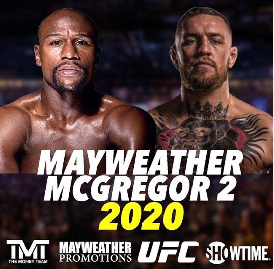 Floyd Mayweather Confirms Conor McGregor rematch.
