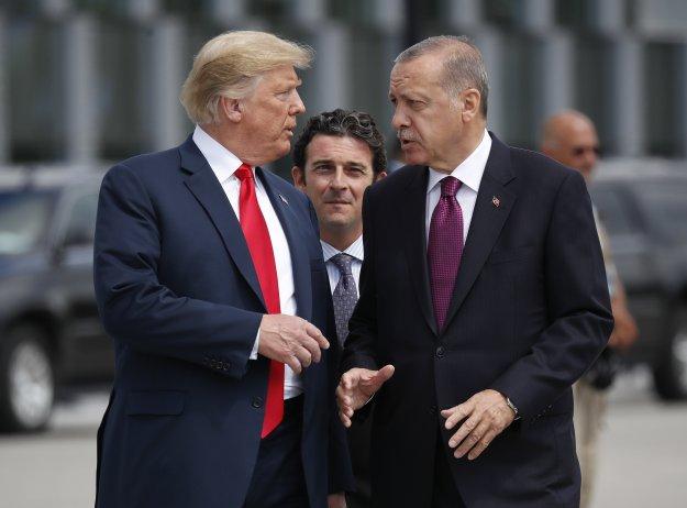 H τύχη των Κούρδων ανεβάζει την ένταση μεταξύ Τραμπ - Ερντογάν