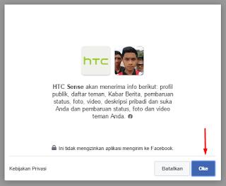 izinkan aplikasi facebook