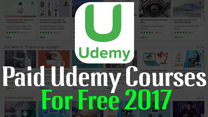 Paid udemy courses for free – Thursday, October 12, 2017