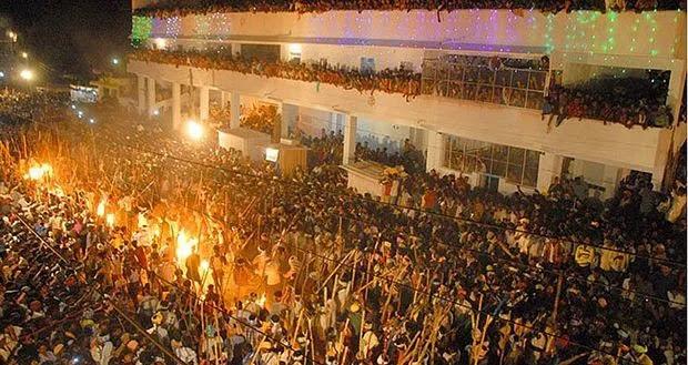 Kill or get killed - Bani Festival, Andhra Pradesh