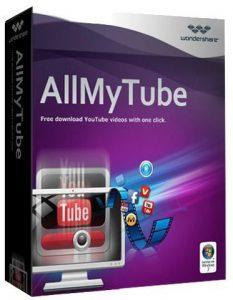 Wondershare AllMyTube 7.4.7.3 + Ativador Download Grátis