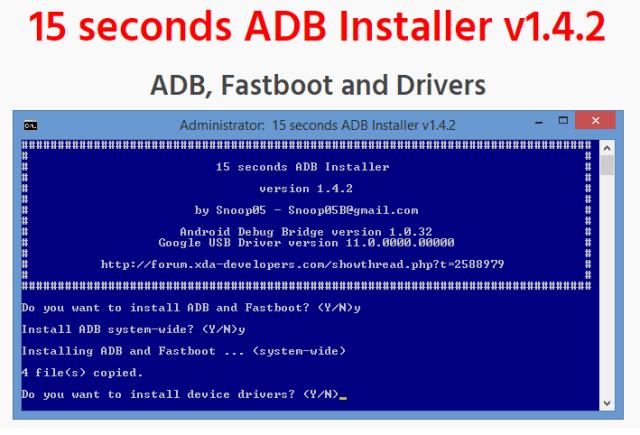 adb fastboot installer