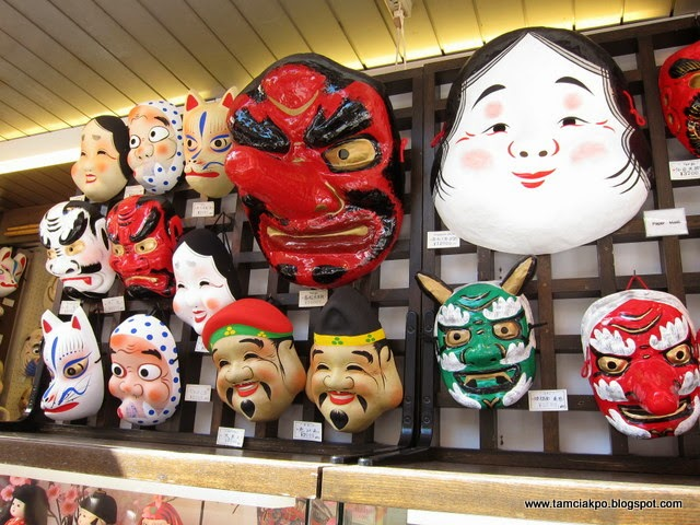 Colorful mask we found at Asakusa, Tokyo during our Japan trip