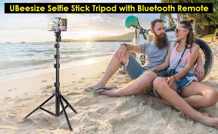UBeesize Extendable Selfie Stick Tripod