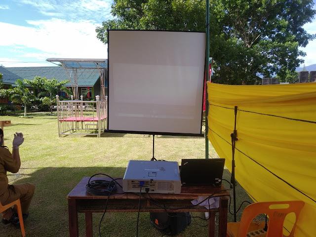 Sewa proyektor Padang