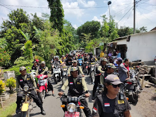 Amankan Pemilu 2019,  Polres Lumajang Kerahkan 5.940 Personil Satgas Keamanan Desa
