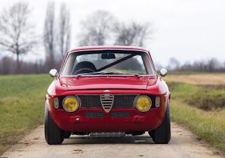 1965 Alfa Romeo Giulia Sprint GTA Front
