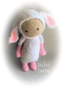 free croche tpattern lamb sheep