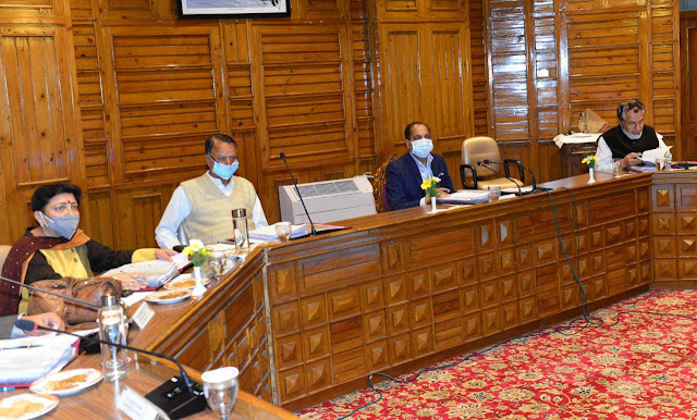 हिमाचल मंत्रिमण्डल ने राज्य के कॉलेजों में जुलाई से परीक्षाएं करवाने का लिया फैसला,अभी स्कूल रहेगें बंद