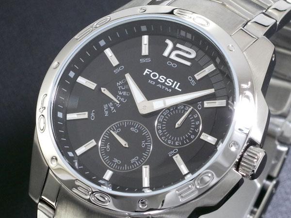 f0ab49c327f4f Fossil com pulseira metálica, clássico e elegante. R  450,00