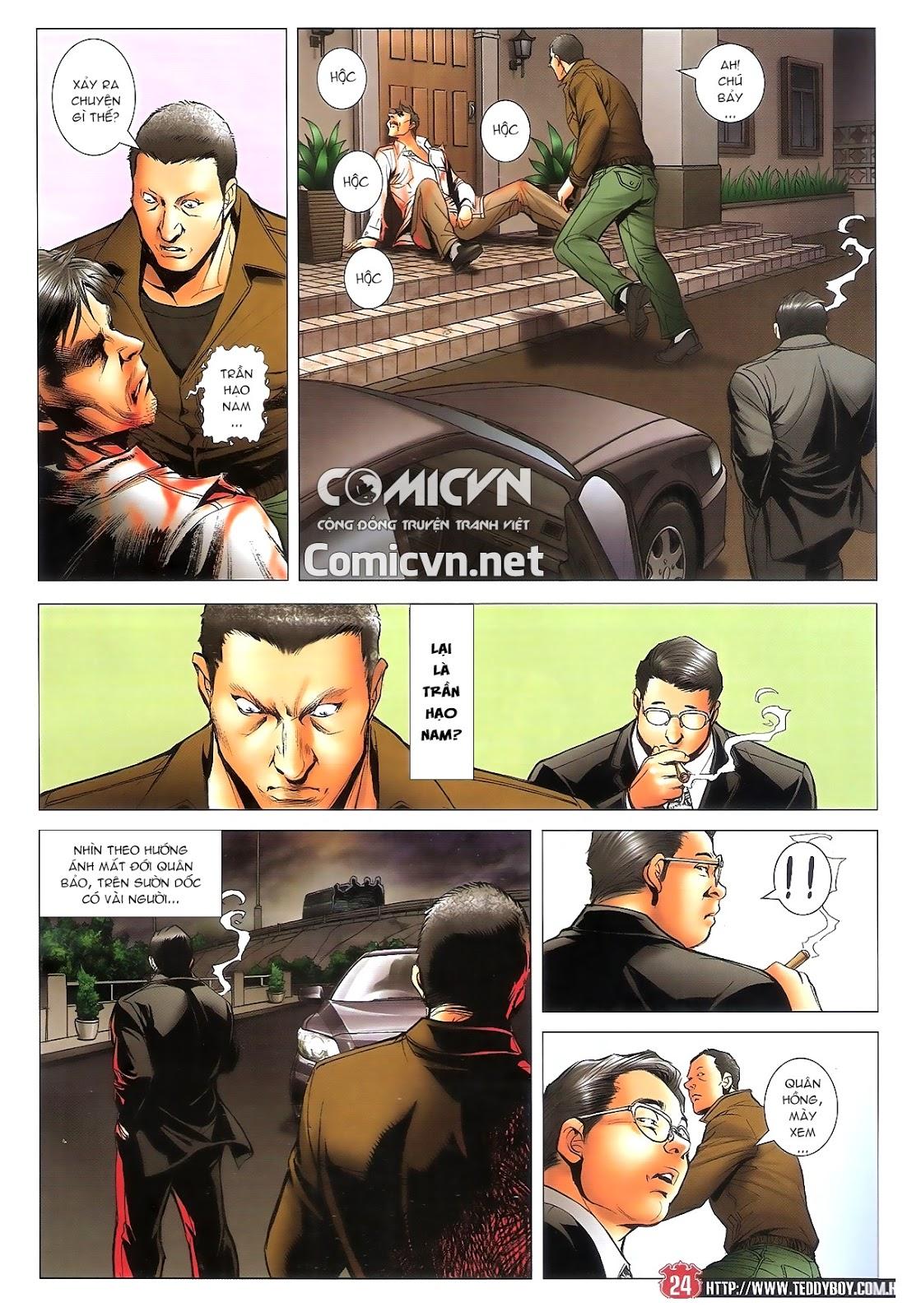 Người Trong Giang Hồ chapter 1696: giết vào vượng giác trang 23