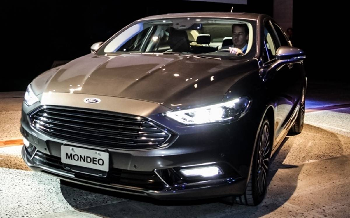 novo ford mondeo 2018 chega argentina por r 128 mil. Black Bedroom Furniture Sets. Home Design Ideas