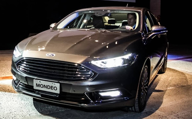 Novo Ford Mondeo 2018