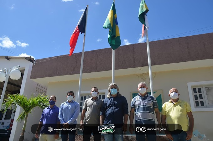 Hasteamento e Exposição sem presença de público foram realizadas em Amparo no Dia da Independência