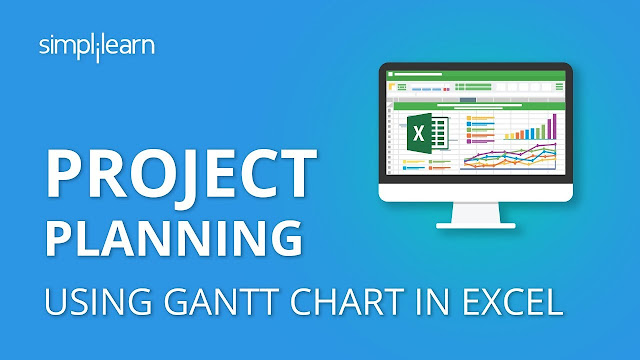Project Plan In Excel With Gantt Chart