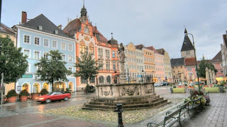 La Stadtplatz de Braunau-am-Inn