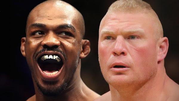 "Dana White incita ""Brock Lesnar vs. Jon Jones"" no UFC"
