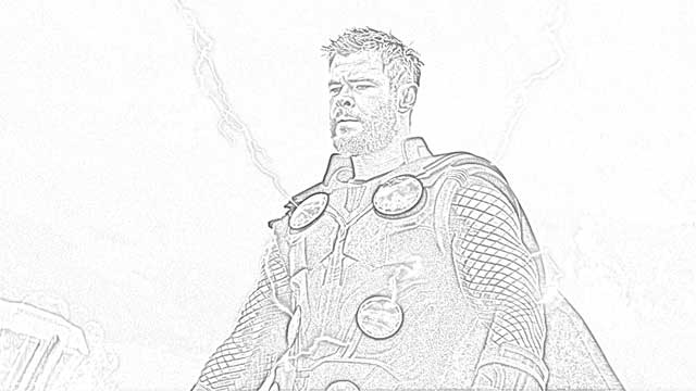 Coloring Pages: Avengers Endgame Coloring Pages Free and Downloadable